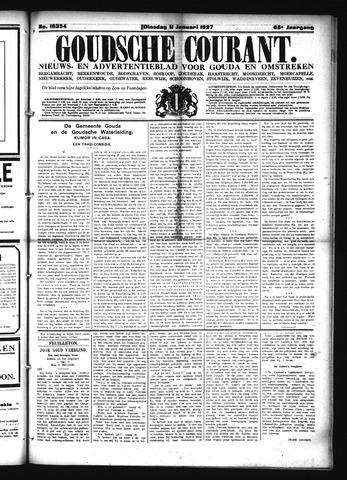 Goudsche Courant 1927-01-11