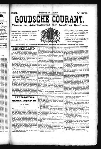 Goudsche Courant 1892-08-18
