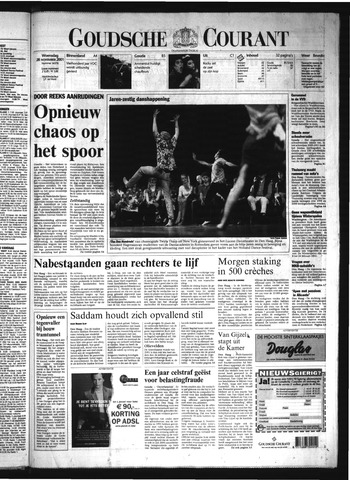 Goudsche Courant 2001-11-28