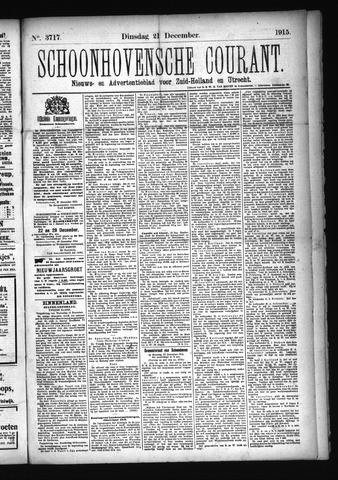 Schoonhovensche Courant 1915-12-21
