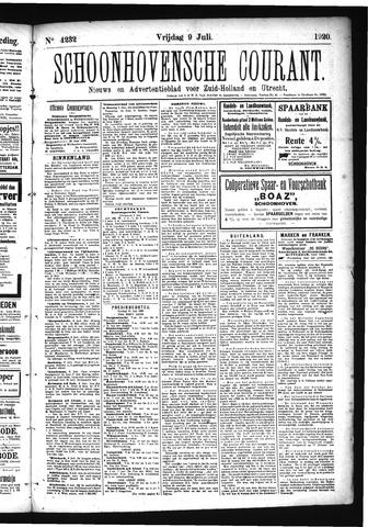 Schoonhovensche Courant 1920-07-09