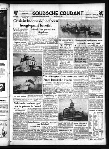 Goudsche Courant 1958-02-13