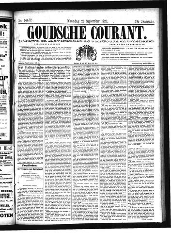 Goudsche Courant 1920-09-20