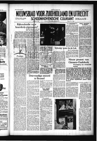 Schoonhovensche Courant 1956-01-20