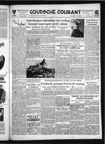 Goudsche Courant 1951-09-25