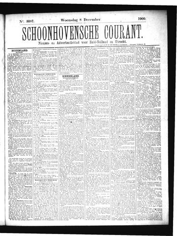 Schoonhovensche Courant 1909-12-08