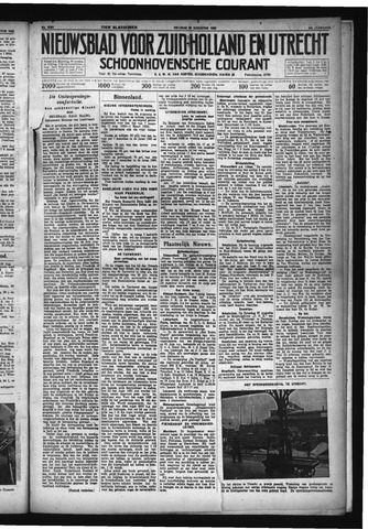 Schoonhovensche Courant 1932-08-26