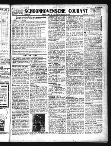 Schoonhovensche Courant 1943-06-08