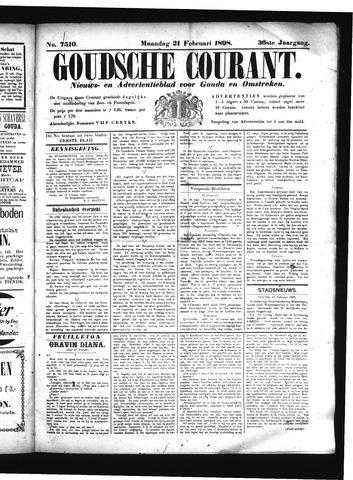 Goudsche Courant 1898-02-21