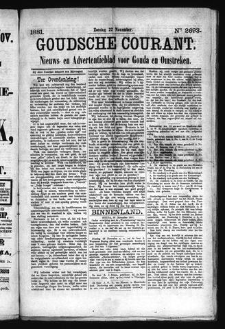 Goudsche Courant 1881-11-27