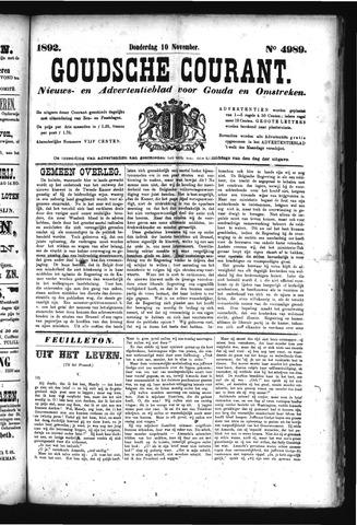 Goudsche Courant 1892-11-10