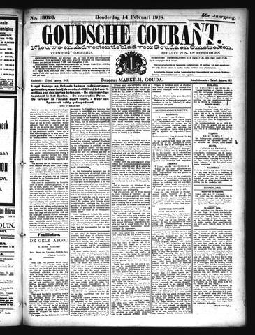 Goudsche Courant 1918-02-14