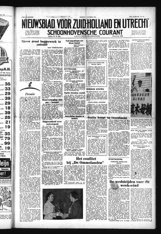 Schoonhovensche Courant 1952-10-03