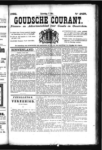 Goudsche Courant 1892-05-07