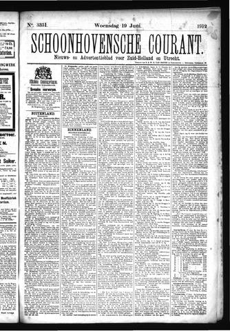 Schoonhovensche Courant 1912-06-19