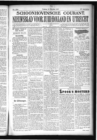 Schoonhovensche Courant 1927-10-21