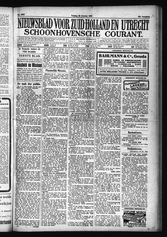 Schoonhovensche Courant 1928-10-26