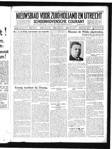 Schoonhovensche Courant 1939-05-22