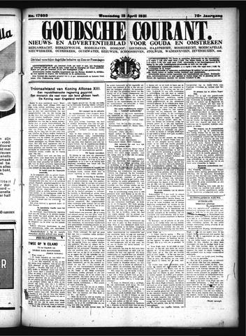 Goudsche Courant 1931-04-15