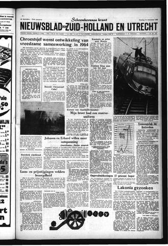 Schoonhovensche Courant 1963-12-31