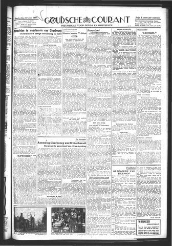 Goudsche Courant 1944-06-22