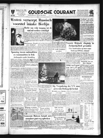 Goudsche Courant 1958-12-15