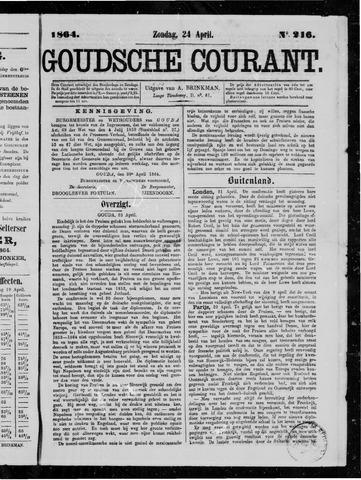 Goudsche Courant 1864-04-24
