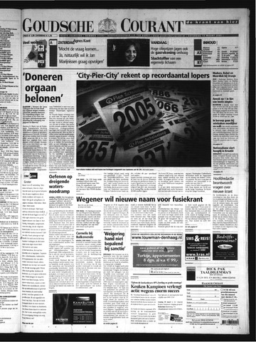 Goudsche Courant 2005-03-19