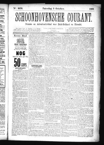Schoonhovensche Courant 1909-10-09