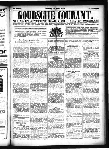 Goudsche Courant 1932-04-19
