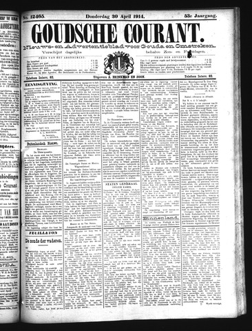 Goudsche Courant 1914-04-30