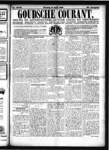 Goudsche Courant 1928-04-10