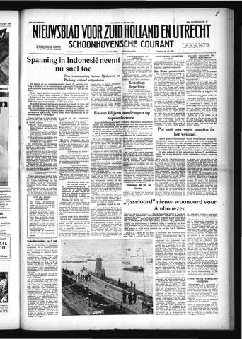 Schoonhovensche Courant 1958-03-10