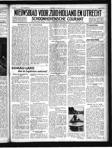 Schoonhovensche Courant 1940-08-21