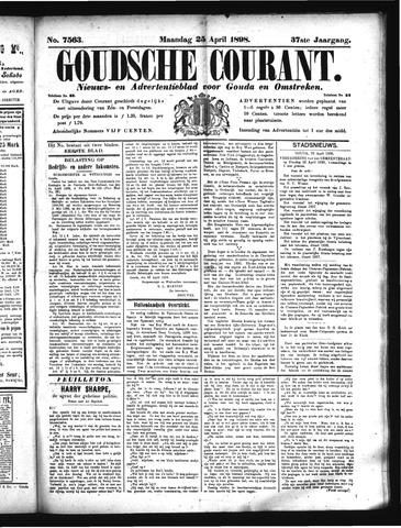 Goudsche Courant 1898-04-25