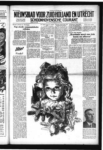 Schoonhovensche Courant 1952-12-24