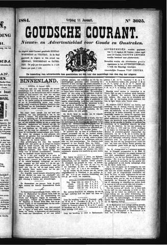Goudsche Courant 1884-01-11