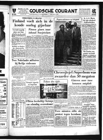 Goudsche Courant 1961-11-01