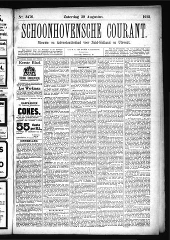 Schoonhovensche Courant 1913-08-30