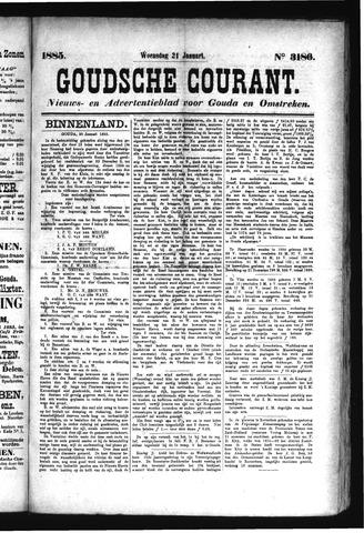 Goudsche Courant 1885-01-21