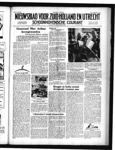 Schoonhovensche Courant 1951-04-11