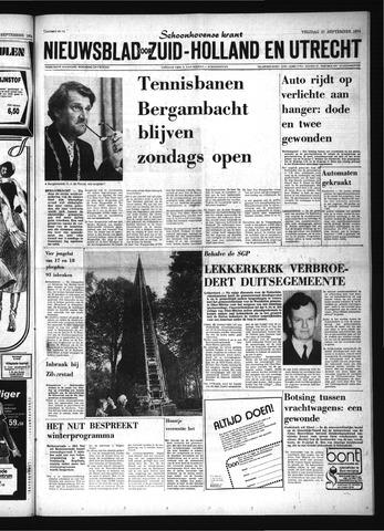 Schoonhovensche Courant 1974-09-27