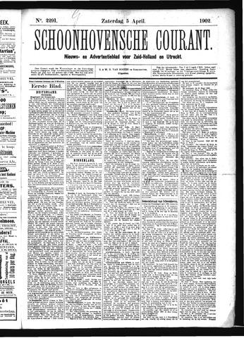 Schoonhovensche Courant 1902-04-05