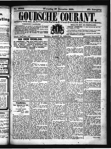 Goudsche Courant 1918-11-27