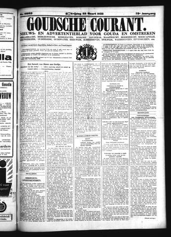Goudsche Courant 1935-03-22