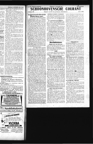Schoonhovensche Courant 1944-10-17