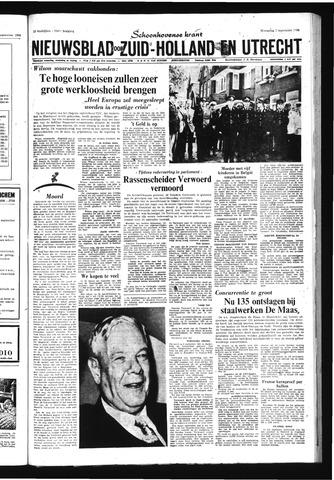 Schoonhovensche Courant 1966-09-07