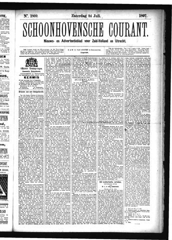 Schoonhovensche Courant 1897-07-24