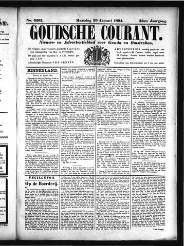 Goudsche Courant 1894-01-29