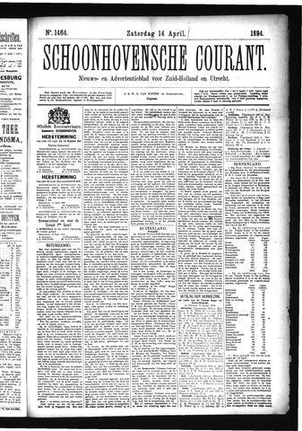 Schoonhovensche Courant 1894-04-14